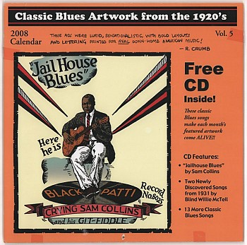2 Classic Blues Artwork from the 1920's