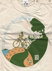 T-shirt Baby-boom-bicycling