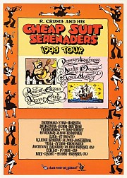 R.Crumb and his Cheap Suit serenaders 1998 Tour