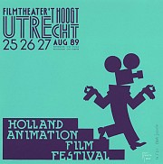 Holland animation film festival 1989 (uitsnede turquoise)