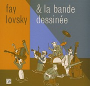 Display Fay Lovsky & la bande dessinée