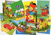 Walt Disney Postcards (set of 25)