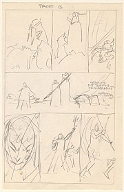 Layout Morrigan Tales Page 6 (first draft)