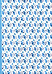 **NEW** Wrapping paper Blue