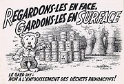 Regardons-les en face, gardons-les en surface
